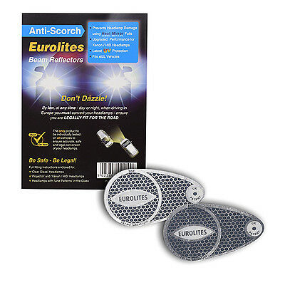 Eurolites Headlamp Beam Adaptors Head Light Converters Car Driving Outside UK