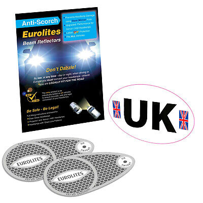 Eurolites Headlamp Beam Adaptors Headlight Convertors Eurolite European Driving