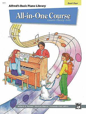ABPL All-in-one Course Piano Book 4 *NEW* Music Tuition Alfred's Basic Lesson