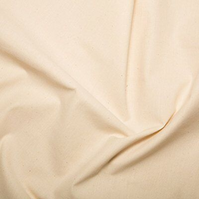 "Loomstate Cotton Calico Fabric Material - Med Weight (150cms / 59-60"" wide)"