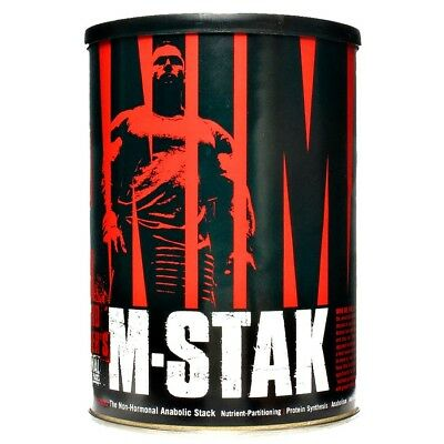 Universal ANIMAL M-STAK Hardcore Anabolic Hardgainer, 21 Packs BUILD MUSCLE FAST