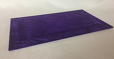 Serving / Counter Mat - Jewellery Display - Purple Suedette *Made in the UK*