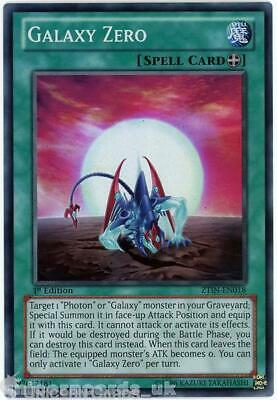 ZTIN-EN018 Galaxy Zero Super Rare 1st Edition Mint YuGiOh Card