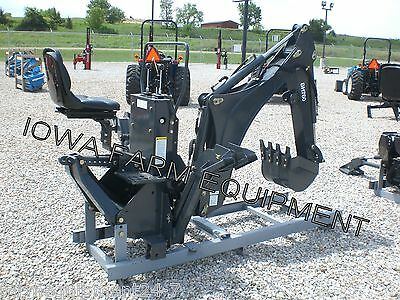"""'IFE' BH760 Curved Boom 3-Pt Backhoe,16""""Bucket! EXCELLENT QUALITY & BEST BUY!"""