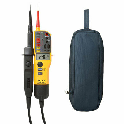 Fluke T150 2 Pole Voltage Continuity Electrical Tester LCD and LED  2019 Version