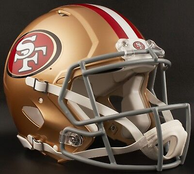 374a82dca SAN FRANCISCO 49ers NFL Riddell SPEED Full Size Authentic Football Helmet