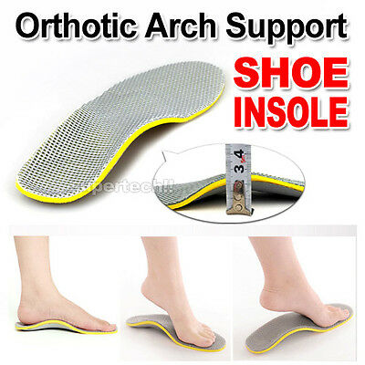 New Orthotic Arch Support Shoe Insoles Pads Pain Relief Men/Women AU POST OZ