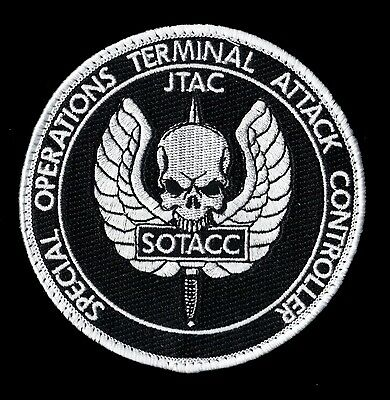 Authentic Usaf Special Operations - Terminal Attack Controller - Dod Sos Patch