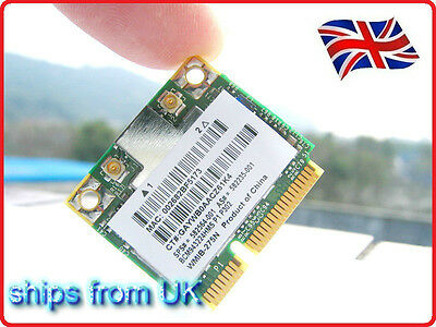 HP Broadcom BCM943224HMS  Wireless Wifi N  Half Card 582564-001 802.11abgn