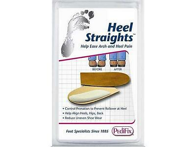 Heel Straights By Pedifix Large 1 Pair Correct Heel Posture Prevent Uneven Wear