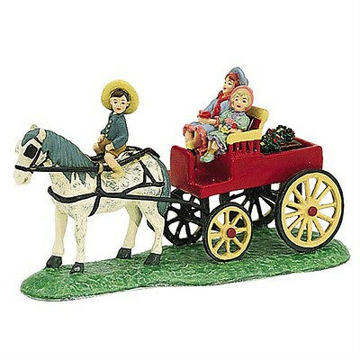 Dept 56 Seasons Bay THE GARDEN CART MINT!