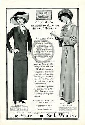 1912 Wooltex Womens Springs Coats and Suits