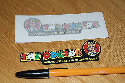 "Rossi ""THE DOCTOR"" Decals 2012 (Pair)"