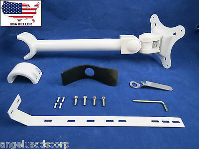 Dental Medical Metal Arm And Mount LED Monitor Mounted Unit Post STAR5