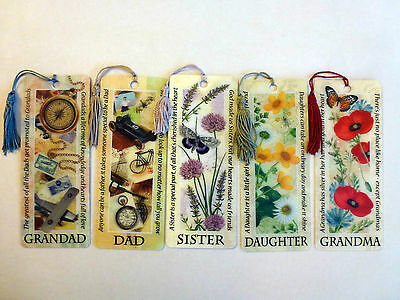 History & Heraldry 3D Personalised Bookmarks - Relations & Sundry