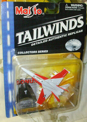 2001 MAISTO TAILWINDS USMC F-A 18C HORNET SOME OF THE CARDS MAY HAVE MINOR SHELF