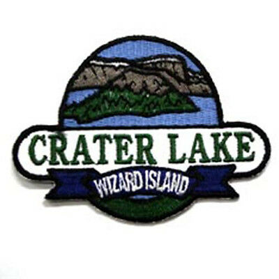 Crater Lake Oregon Embroidered Souvenir Patch