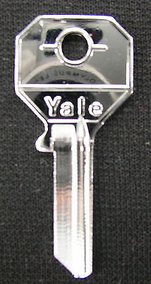 Rolls Royce Bentley Silver Plated NOS Rare Original Yale Master Key RH 7486