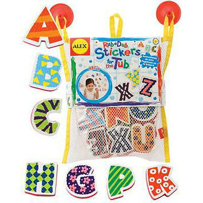 Alex Stickers for the Tub - ABC BATH TOY Pool Learning Kids Child Game AL631W