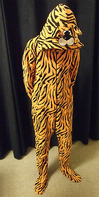 Boys One Piece Tiger Tigger Zip Costume Kids Pyjamas All In One Age 3 Year New