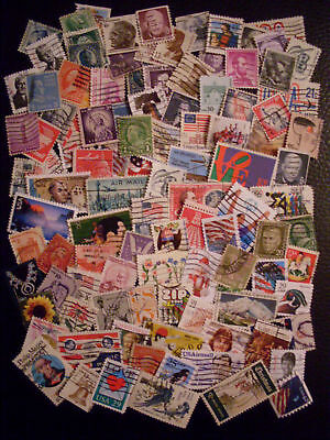 Lot + 100 beautiful stamps U.S.A.