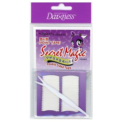 Darkness Secret magic Double Eyelid Sided Tape with Applicator Point Tape