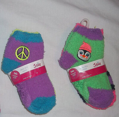 New Justice Dreamy 2Pack Soft Ankle Socks Choose Size S/m Shoe 13-5 M/l Shoe 5-9