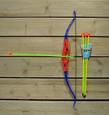 Kingfisher Garden Outdoor Archery Junior Bow and Arrow Set Game Toy for Children