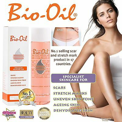 BIO OIL SKIN CARE STRETCH MARK ANTTI AGEING SCAR 200ml