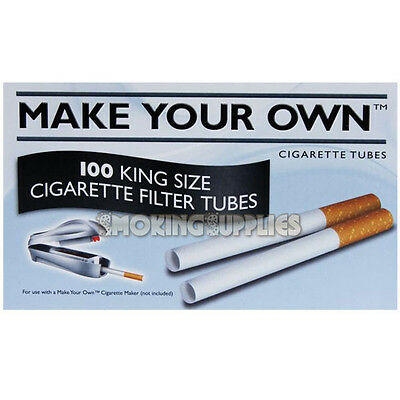 500 Make Your Own Cigarette Tubes 5 x 100