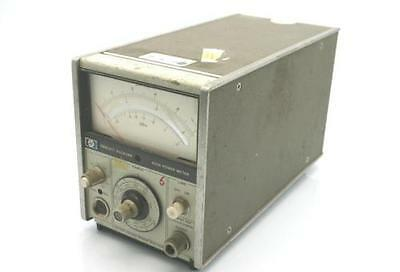 HP Agilent 435A Analog Power Meter - POWERED ON