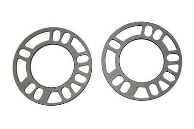 3MM ALLOY WHEEL SPACERS SHIMS PAIR UNIVERSAL SET OF 2 5x100/5x112/5x114.3/5x120