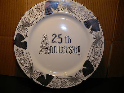 Norcrest B-203 25th Anniversary Dinner Plate