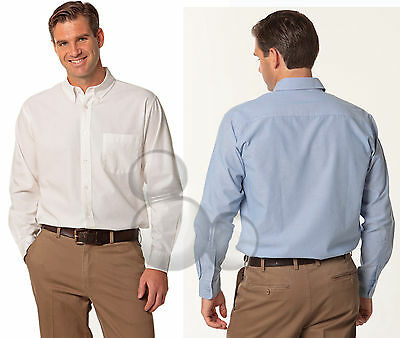 Mens Shirt Size 38 39 40 41 42 43 44 46 Long Sleeve Oxford Business