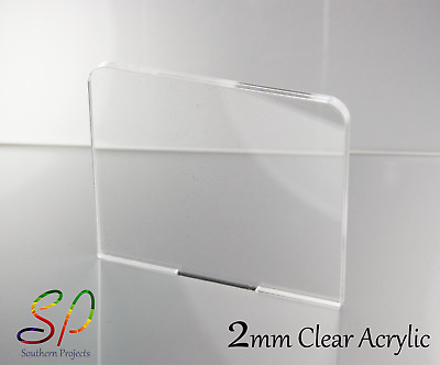 2Mm Perspex Acrylic Plastic Sheets Clear Transparent