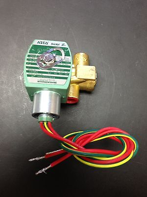 Milnor 3-Way Valve 96TCC3AA37 for Commercial Laundry Equip.  ASCO X8321G00215464