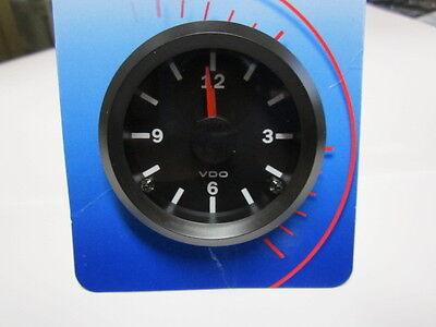 Fiat 124 Spider Clock, New, Vdo