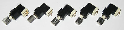 5 X Tiny Vibrator Motors - 4 mm Dia. - Pager / Cell Phone Micro Motor - 3 V DC