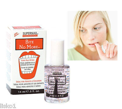 SuperNail BITE NO MORE STOPS NAIL BITING  Ideal for Adults & Children 0.5 oz