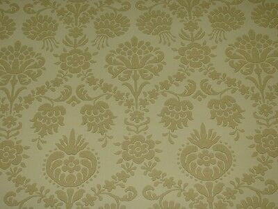 COLE AND SON TAN 'PELHAM' WALLPAPER -$30 PER 11 YD ROLL