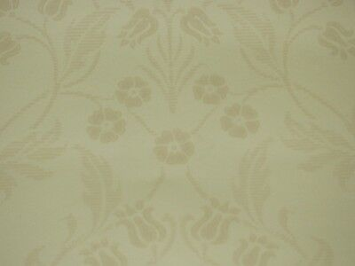 GREAT PRINT!  COLE AND SON CREAM/BEIGE 'SILVERWOOD' WALLPAPER -11-YD ROLLS