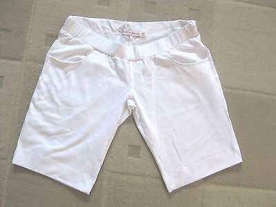 Maternity Shorts LOWRISE Hipster WHITE Maternity Clothing, Bottoms, Pants NEW