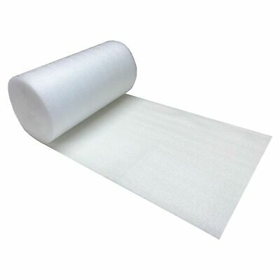 "Foam Wrap Roll 12"" wide x 50' ft 3/32"" Thickness perforated every 12"""