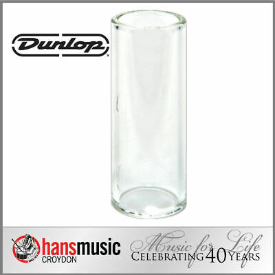 Jim Dunlop Tempered Glass Guitar Slide, Medium wall, Medium *NEW* 20x25x60