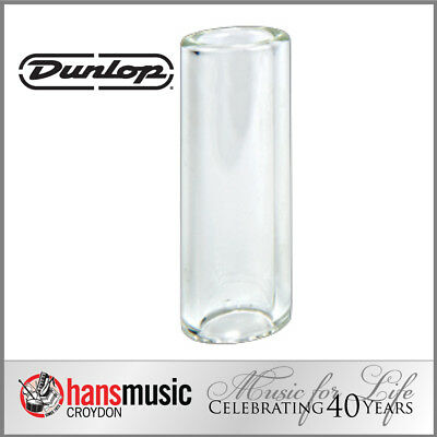 Jim Dunlop Tempered Glass Guitar Slide, Heavy wall, Small 211 *NEW* 17x25x69
