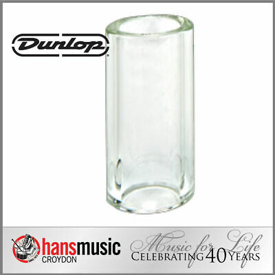 Jim Dunlop Tempered Glass Guitar Slide, Heavy wall, Short 212 *NEW* 17x25x51