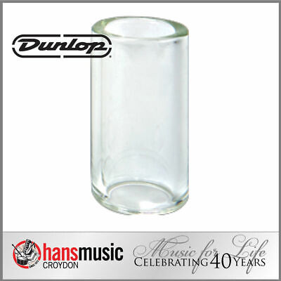 Jim Dunlop Tempered Glass Guitar Slide, Heavy wall, Medium/Short *NEW* 20x29x51