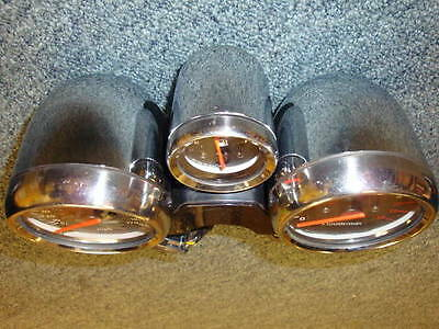 Suzuki Bandit 600 / 1200 Chrome Clock Covers / Bowls Set , Speedo & Rev Counter