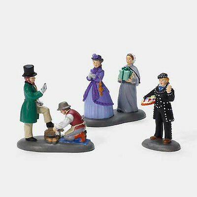 Dept 56 Dickens A BUSY DAY IN TOWN SET/3 NIB NEW!