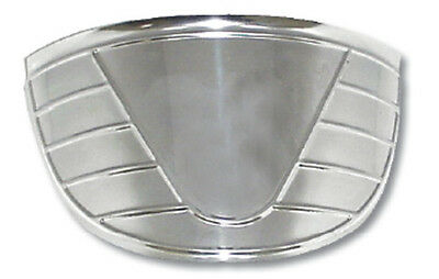 """Visor For 7"""" Round Headlight Stainless Steel -Fits Dietz/Kingbee & Others"""